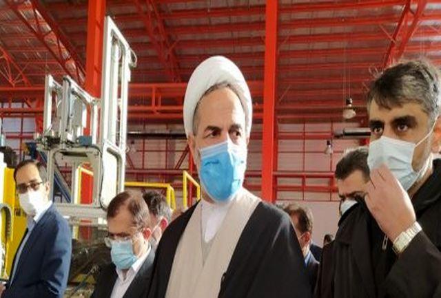 بازدید رئیس سازمان بازرسی کشور از واحدهای تولیدی یاسوج