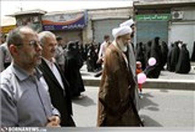 حضور چشمیگیر جامعه ورزش استان قزوین در راهپیمایی روز قدس