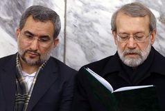 حضور لاریجانی در آئین نکوداشت شهدای عرصه نظم و امنیت