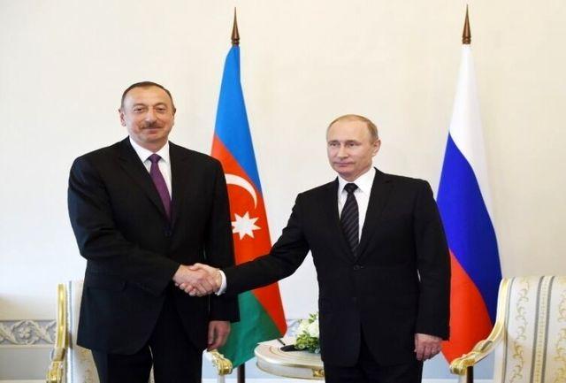 روسای جمهور آذربایجان و روسیه باهم دیدار کردند