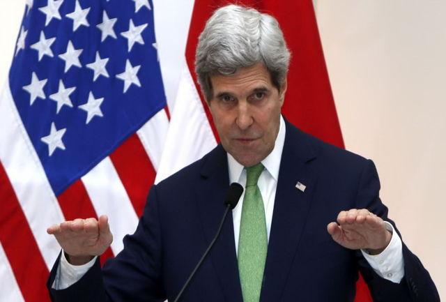 کری خواستار کمک روسیه و ایران به تقویت آتش بس در سوریه شد