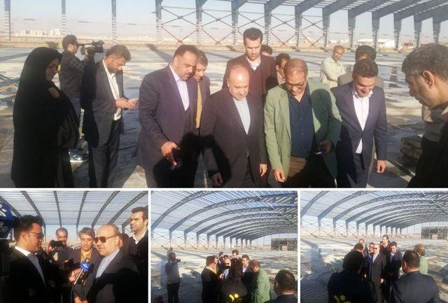 بازدید سلطانیفر از پروژههای مختلف ورزشی در یزد