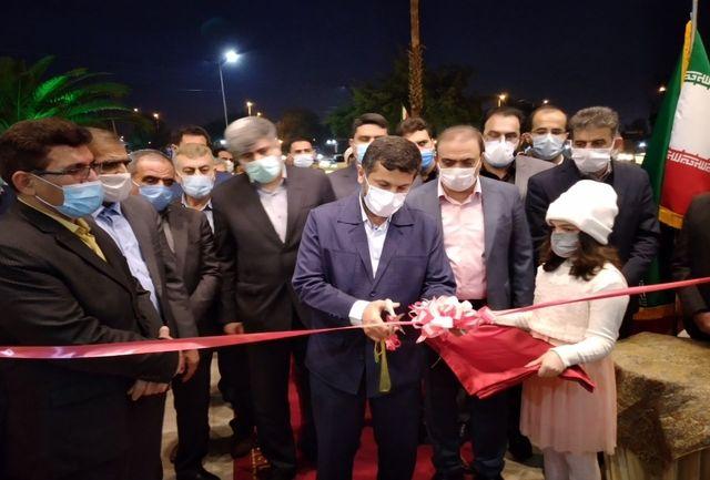 کلنگ زنی و بهره برداری از پروژه های دهه فجر شهرستان اندیمشک