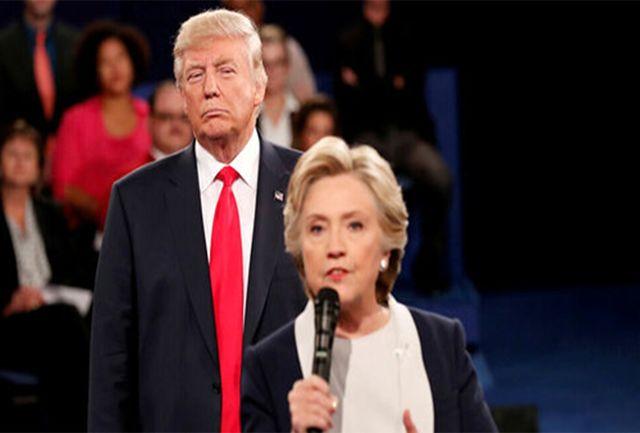 کلینتون: ترامپ  قصد دارد تا مردم را از واقعیت موجود دور کند!