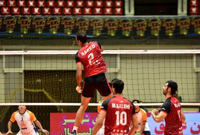اولین برد شهرداری جوان ارومیه در لیگ دسته یک والیبال
