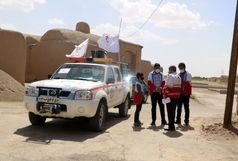 تب سنجی بیش از 6 هزار نفر در ورودی شهر خوسف / گندزدایی 18 روستای شهرستان خوسف به همت اعضای جمعیت هلال احمر
