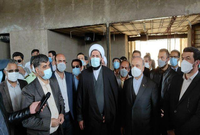 ورود وزیر ورزش و جوانان به شهرستان بشرویه