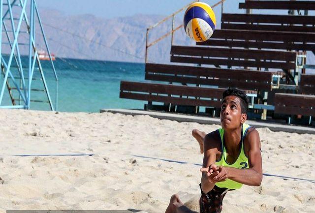 شکست والیبالیستهای زیر 21 سال ساحلی ایران در اولین دیدار