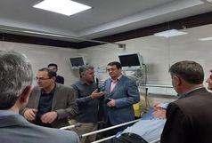 مجروح شدن 12 مدیر بر اثر ریزش سقف کاذب در یک واحد صنعتی حین بازدید یک مسول!