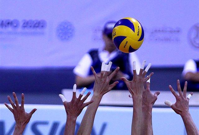 اعلام نتایج هفته هفتم لیگ دسته یک والیبال