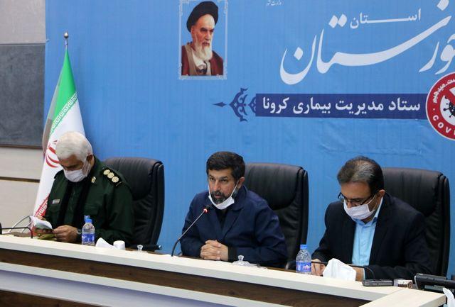 جلوگیری از وقوع پیک چهارم کرونا در خوزستان با اجرای طرح شهید سلیمانی/بررسی موضوع شیوع هپاتیت در استان
