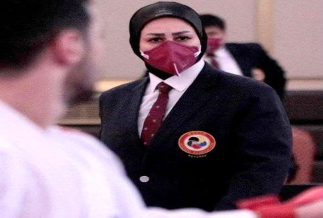 داور بانوی کاراته آذربایجانغربی دوباره هیات ژوری لیگ جهانی شد