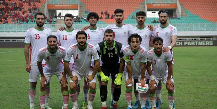 ترکیب تیم فوتبال امید مقابل قطر اعلام شد