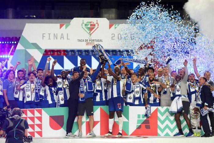 فتح جام حذفی پرتغال توسط پورتو