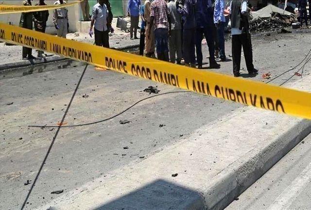 سقوط هواپیمای نظامی در نیجریه
