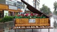 بارش پراکنده باران در شمال استان همدان ادامه دارد