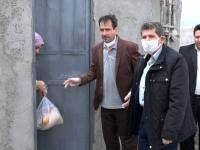 بسته اقلام مواد غذایی و بهداشتی بین نیازمندان توزیع شد