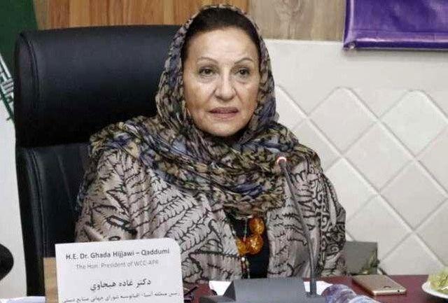 غاده هیجاوی مناطق صنایع دستی  بسیاری در ایران را ثبت کرد