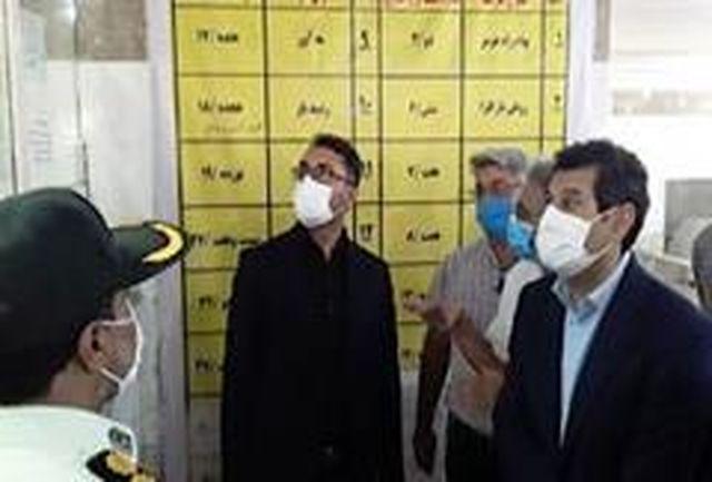 بازدید سرزده دادستان مرکز هرمزگان از پایانه باربری بندرعباس