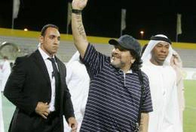 الوصل جلوی چشم مارادونا لیگ قهرمانان آسیا را از دست داد