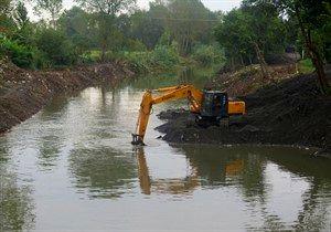 لایروبی رودخانه های عبوری از بندرگز با دستور دادستان