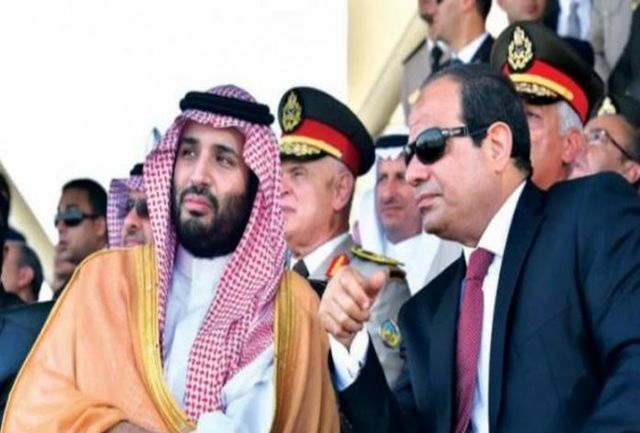 عربستان سعودی یک جزیره را در اختیار مصر قرار داده است