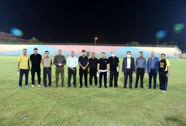 برگزاری تست آمادگی جسمانی پیش فصل داوران استانهای همدان و بوشهر