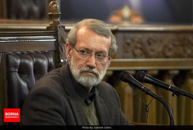 علی لاریجانی به وزیر اطلاعات تسلیت گفت