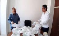 توزیع بستههای بهداشتی در میان ورزشکاران بوچیا استان