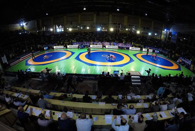 مرحله اول رقابتهای انتخابی تیمهای ملی کشتی فرنگی و آزاد برگزار میشود