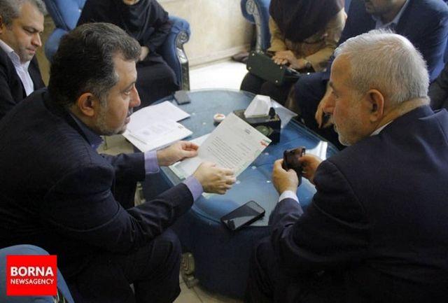 دیدار نماینده مردم شهرستان رشت با معاون امور جوانان وزارت ورزش