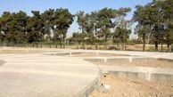 آمادهسازی بوستان جدیدالاحداث وصال برای کاشت فضای سبز