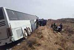 تصادف اتوبوس در سمنان