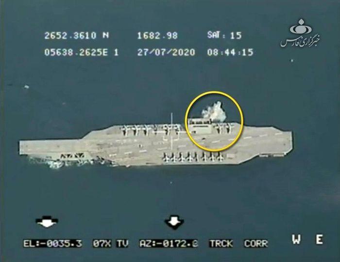واکنش آمریکا به رزمایش سپاه در خلیج فارس