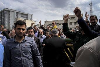 راهپیمایی مردم تهران در حمایت از سپاه پاسداران انقلاب اسلامی