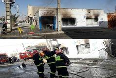 حریق نانوایی در زابل دو نفر را راهی بیمارستان کرد