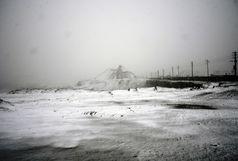 برف و یخزدگی در نطنز