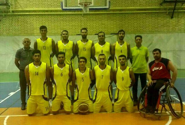 قهرمانی  تیم آرشین خرم آباد درمسابقات بسکتبال سه نفره استان لرستان