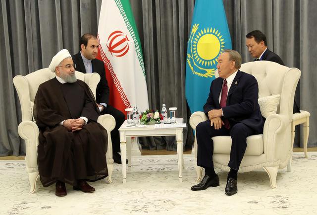 ایران و قزاقستان می توانند مکمل یکدیگر در حوزه ترانزیتی باشند