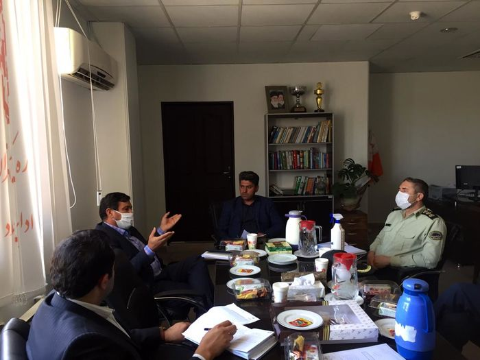 برگزاری جلسه ساماندهی مجهولین در بهزیستی شهرستان ملارد