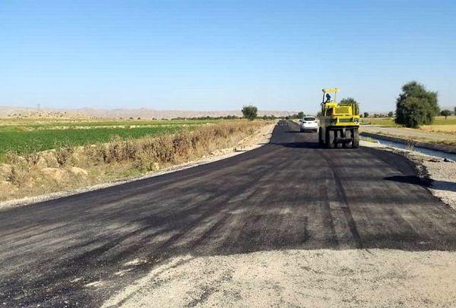 بهسازی و تعریض بیش از ۴۰ کیلومتر از راههای روستایی شهرستان خوی