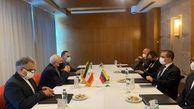 دیدار  وزیر امور خارجه ونزوئلا با محمدجواد ظریف