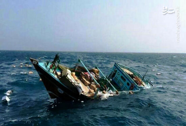 نجات ۵ سرنشین قایق صیادی در محدوده خلیج چابهار