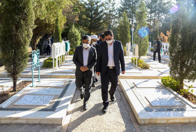 سفر رئیس جدید سازمان بنیاد شهید کشور به مشهد