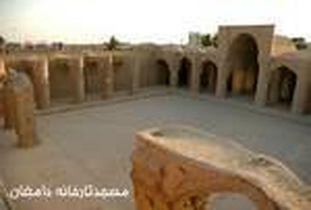 آزادسازی بخشی از حریم مسجد تاریخانه دامغان