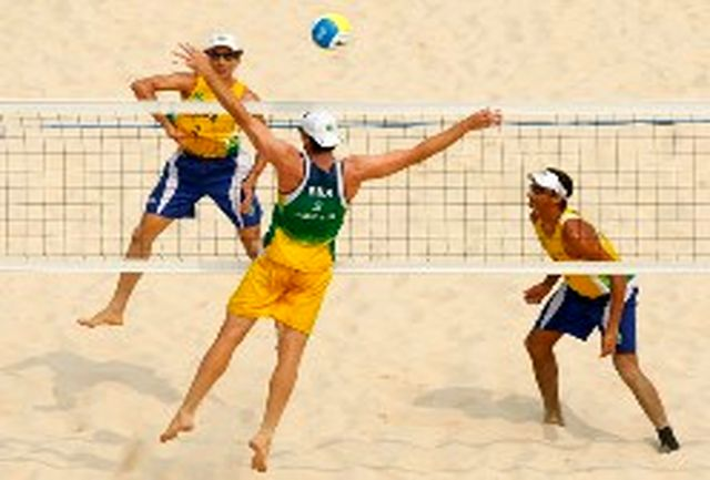 فینالیستهای مرحله سوم لیگ والیبال ساحلی مشخص شدند