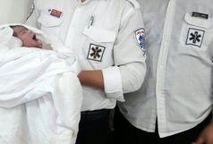 تولد نوزاد دختر در آمبولانس اورژانس دزفول