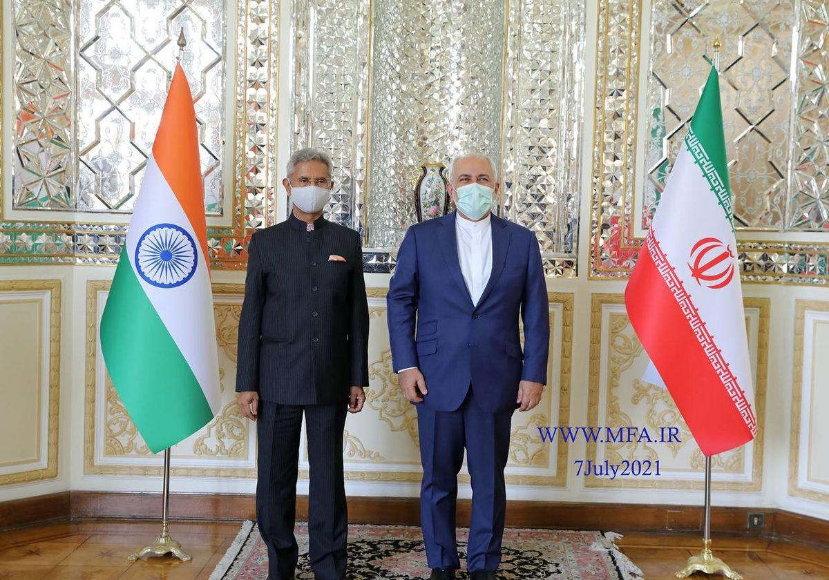 وزیر خارجه هند با ظریف دیدار کرد