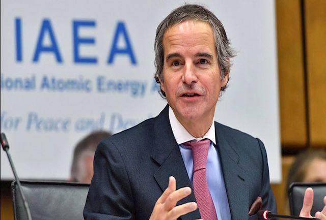 گروسی بر نقش کلیدی انرژی اتمی در مقابله با بحران اقلیمی تاکید کرد