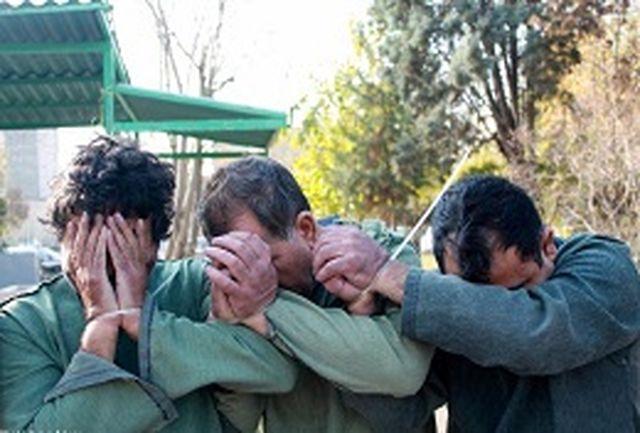 دستگیری عاملان جنایت مسلحانه در خیابان ظفر